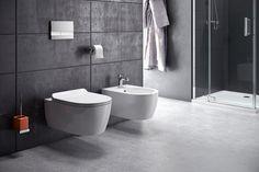 Ceramika seria DOTO: miska wisząca wc bezrantowa Doto Pure-Rim, bidet Doto_ http://www.excellent.com.pl/produkt/1524/miska-wiszaca-wc-doto-pure-rim