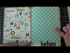 First Altered Book (Baby Book) - Part 4