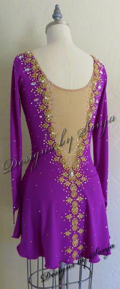 Figure Skating Dresses, Page Design, Designer Dresses, Custom Made, Skate, Costumes, Designer Gowns, Dress Up Clothes, Costume