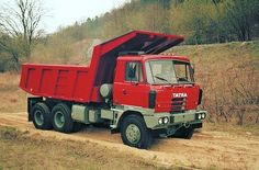 Dump Trucks, Czech Republic, Motor Car, Cars And Motorcycles, Industrial Design, Automobile, Vehicles, Heavy Equipment, Car