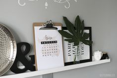 Tapeta i kalendarz na marzec