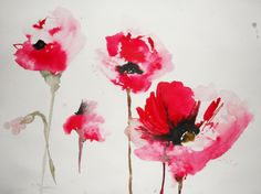Karin Johannesson - Four Poppies