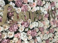 Personalise your Flower backdrop for hire Flower Backdrop, Flower Wall, Photo Booth Backdrop, Backdrops, Balloons, Wedding Decorations, Floral Wreath, Decor Ideas, Wreaths