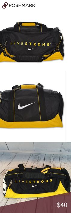 Nike Livestrong Medium Duffel Bag