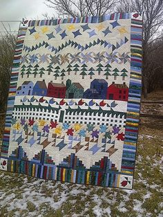 row robin quilt - Google Search