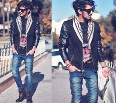 Just me & you (by Mohcine Aoki) http://lookbook.nu/look/4438389-Just-me-you
