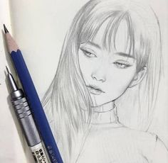(This is a portrait of an artist who deserves to be honored not by me but by som. Portrait Au Crayon, Pencil Portrait, Pencil Art Drawings, Drawing Sketches, Portrait Sketches, Sketching, Inspiration Art, Art Inspo, Art Du Croquis