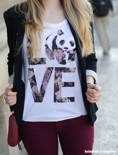 Panda-LOVE-t-shirt-CHOIES