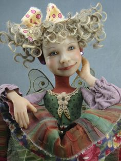 I so love her work- great style and concept. Dianne Adam Dolls