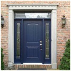 Beautiful custom front door