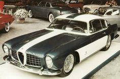 Abarth Alfa Romeo 2000 Ghia Coupe - 1954