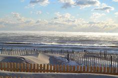 Sea Smoke off Ocean Beach, NJ.