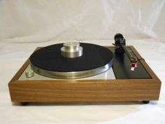 Transformed Vintage Thorens TD-150 Turntable, Upgraded Rega Arm, Music Hall Speed Control, Extras