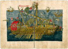 Ritter Konrad Grünembergs Wallfahrt ins Heilige Land mit einer venezianischen Galeere