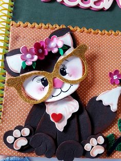 Diy Crafts Hacks, Diy And Crafts, Crafts For Kids, Arts And Crafts, Paper Crafts, Diy Notebook, Decorate Notebook, Peacock Wall Art, Cute Notebooks