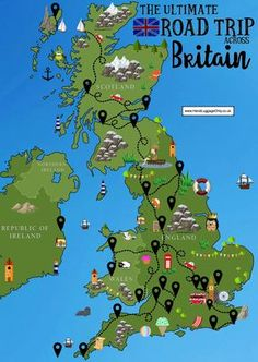 A road trip is an incredible way to see a country especially, the truly stunning, Great Britain! One of the best things about our wonderful country is the vast amount of diverse sights to see (and perhaps