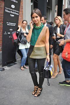 Milan Fashion Week, Miroslava Duma