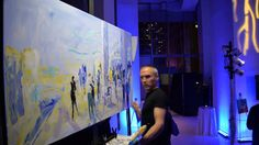 "Greg Kalamar, ""Art Of This World time laps of creating painting for the charity ArtWorks, The Naomi Cohain Foundation Live Events, Charity, Artworks, Foundation, Canvas, World, Artist, Youtube, Painting"