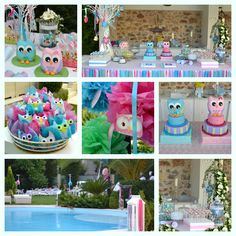 Owl candy bar , Cakes