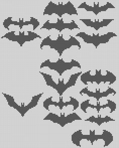 Batman Alpha Pattern #16071 Preview added by adelabats