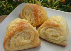 Kynuté sýrové šneky - TopRecepty.cz Ciabatta, Hummus, Peanut Butter, Food And Drink, Dairy, Cheese, Cookies, Ethnic Recipes, Basket