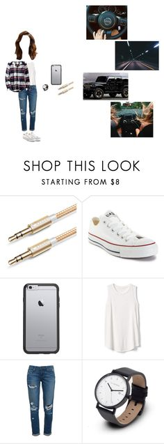 """""""it's a jeep thing"""" by nikkitayx ❤ liked on Polyvore featuring Converse, OtterBox, Gap, Paige Denim and American Eagle Outfitters"""