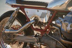 Moto Guzzi Turbo by Craig Rodsmith Guzzi V9, Moto Guzzi, Vintage Iron, Custom Bikes, Motorcycles, Vehicles, Transportation, Wheels, Culture