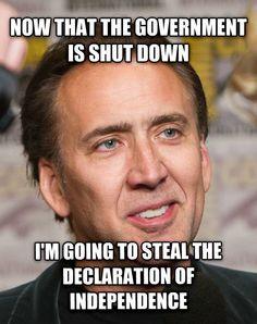 Nicolas Cage/National Treasure
