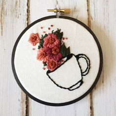 Embroidery hoops by ThreadTheWick on Etsy • So... |