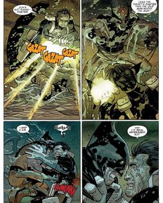 Guns got range -- Faster. Unless . . . #darkreign #marvelcomics #marvel #comics #marveluniverse #punisher #thepunisher #punishercomics #rickremender #JohnRomita #JohnRomitaJr #frankcastle #darkreignthelist #daken #darkwolverine