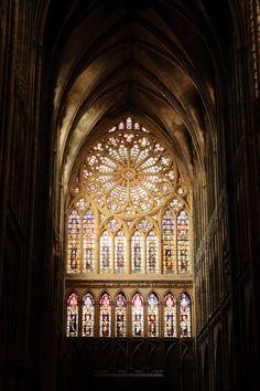 St. Stephen's Cathedral in Metz ༺ ♠ ŦƶȠ ♠ ༻
