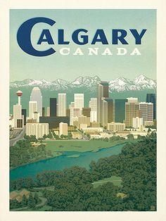 Canada: Calgary Skyline