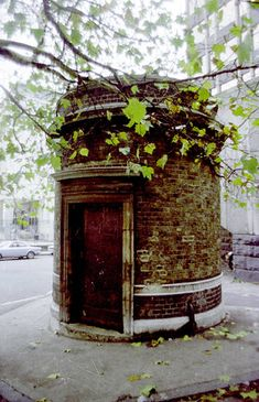 The entrance to the Tower Subway - the first 'tube' line in the world. It ran under the Thames but was only open for a few months.