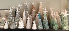 Seashell Trees for Christmas!