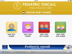 Indian Baby Names - Pediatric Oncall by Pediatric Oncall Private Limited