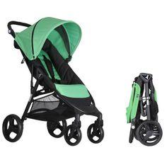 Una silla que puede plegarse con una sola mano. Silla de paseo ligera, modera, práctica, cómoda y de calidad. Se llama Autofold y es de Nikimotion.