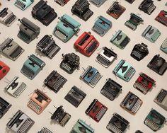 Image of Typewriter Pattern
