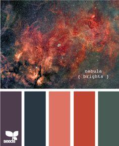 Nebula brights - design seeds