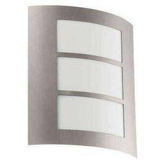 Plafonnier extérieur 1X60W Acier inoxydable-City - EGLO LIGHTING - 88139