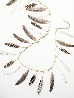 Feather Garland