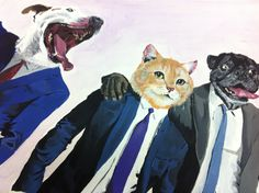 Party animals Painting GB