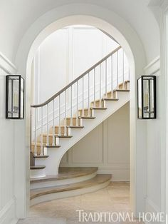 Lower steps and millwork
