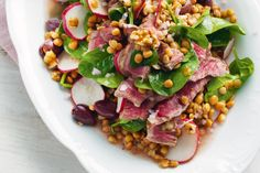 This punchy salad is packed with crunch from walnuts, radish and cumin seeds. *GF*