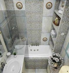 New Bathroom Remodel Diy Tile Shelves Ideas Bathroom Design Small, Bathroom Layout, Bathroom Shelves, Bathroom Interior Design, Bathroom Flooring, Small Bathrooms, Diy Bathroom Remodel, Bathroom Spa, Shower Remodel