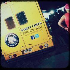 Artsy food truck.