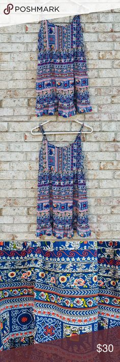 One Clothing Tribal Dress Tribal Dress from One Clothing. Size Small. Lightly used. Only wore a couple of times (too small). one clothing Dresses Mini