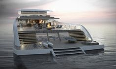 Insane luxury: 55m pastrovich studio's X-easy yacht simplifies life at sea