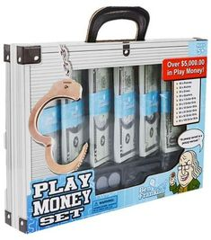 Kids learn the value of a dollar while they play. This realistic money set is perfect for home or classroom use. Barbie Doll Set, Barbie Toys, Beautiful Barbie Dolls, Design Your Own Sneakers, Decorating Toddler Girls Room, Unicorn Phone Case, Disney Princess Toys, Cute Suitcases, Cool Fidget Toys