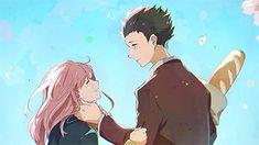 / Koe no Katachi // A Silent Voice // Shouko Nishimiya // Shouya Ishida Anime Chibi, Anime Kawaii, Anime Manga, Anime Art, Anime Boys, Anime Films, Anime Characters, Koe No Katachi Anime, A Silent Voice Manga