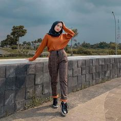 Inspiration Hijab Style Outfit of The Day (OOTD) 2019 Remaja Indonesia Positif K